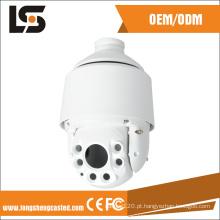 Peças de fundição sob pressão de alumínio em torno do sistema de monitor de visão Fabricantes de caixa de câmera de CFTV