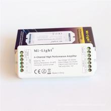 Mi light DC 12V /24V 6A 4-Channel High Performance Amplifier For Single Color / RGB / RGBW LED Strips Lights