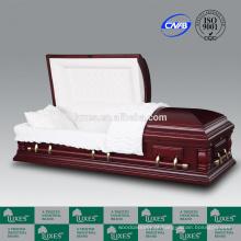 LUXES Nottingham de caixão cremação padrão americano