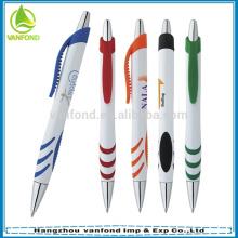 Presente relativo à promoção de plástico caneta, caneta promocional barata, propaganda promoção caneta