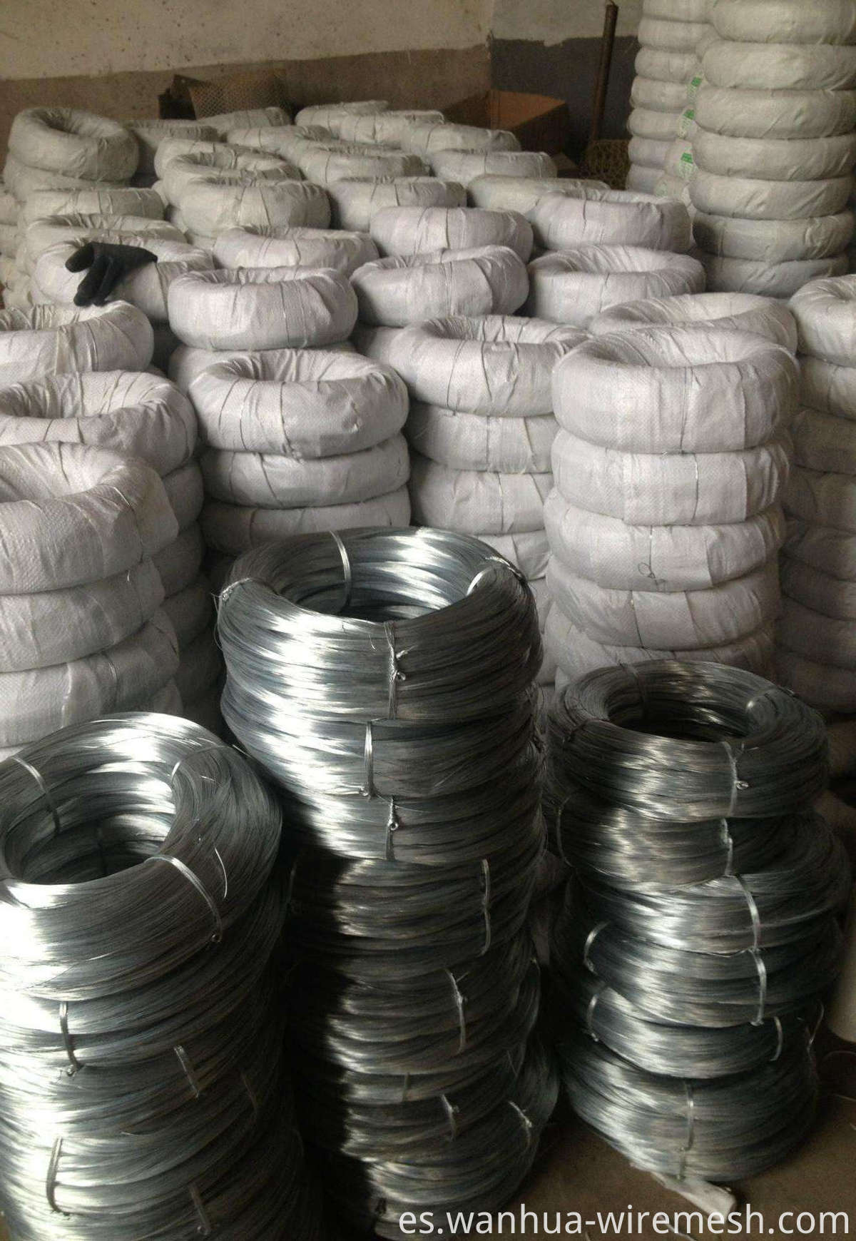 4mm Low Carbon Steel Wire Galfan Wire (1)
