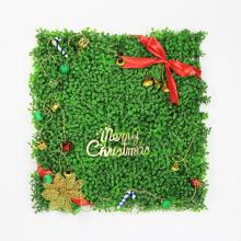 Feliz Navidad 50 * 50CM plantas de navidad artificiales encantadoras para la pared