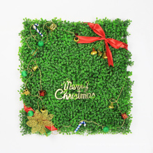 Merry christmas 50*50CM lovely artificial christmas plants for wall