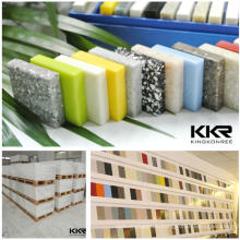 Decoration artificial stone solid surface sheets for home building with high quality