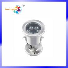 Lumière sous-marine de l'acier inoxydable LED 3W