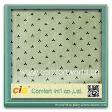 Nuevo diseño de moda impresa bastante tela del lecho del telar jacquar