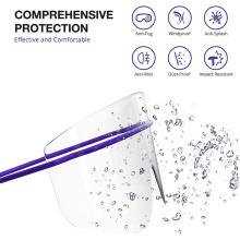 Disposable Safety Eyewear Plastic Eye Shield Disposale Eyewear Dental Eye Protection