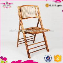 bamboo outdoor elderly folding chair manufacture
