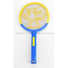 Rechargeable mosquito fly swatter with Flashlight