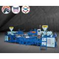 Machine de moulage de PVC 3 pièces supérieure / semelle / bande