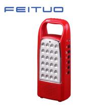LED Portable Lamp, Rechargeable Lantern, Hand Light, FM Radio Light 620-R