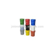 Molde plástico modificado para requisitos particulares del cubo del molde de la pintura del diseño profesional