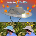 Chapeau de seau hydro-refroidissant solaire avec protection UV