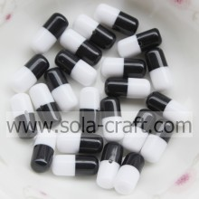 6*12MM Resin Capsule Shape Chunky Beads