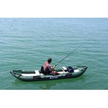 2014 Green Ocean Inflatable Fishing Kayak, PVC Kayak