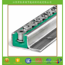 Guide de chaîne de polyamide pour transporter mieux que le rail d'UHMWPE