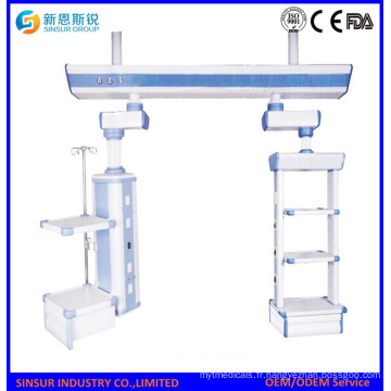 ISO / Ce approuvé ICU Bridge Wet and Dry Medical Surgical Pendants