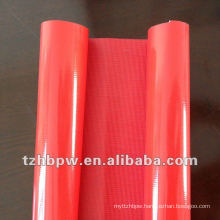Heat resistance PVC fabric knited and woven
