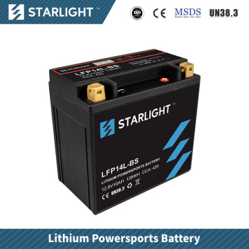 LFP4L-BS Lithium Motorrad Batterie / Powersport Batterien
