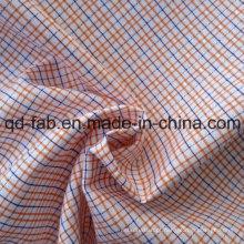 Fios tecidos tingidos tecido (QF13-0211)