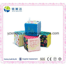 Adorable CE Approved Cotton & Plush Material Baby Cube Toy