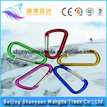 Factory supply high quality square steel carabiner mini carabiner wholesale