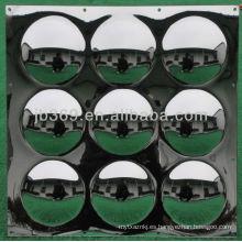 Espejo acrílico con 9 paneles adornados