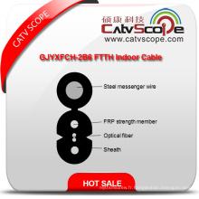 Chine Fournisseur de haute qualité Gjyxfch-2b6 FTTH intérieur fibre optique câble