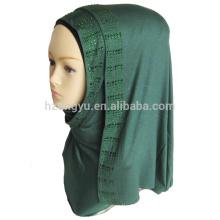 Maxi prayer fashion shawl scarf women stylish muslim stone stretch jersey hijab