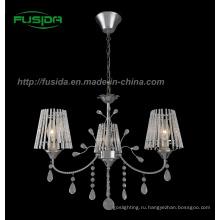 Кристалл подвеска лампа / Стеклянная люстра света (D-9318/3)