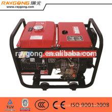 5kw portable diesel generator offene typ hohe qualität