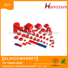 Hot sale High quality Permanent Red strong AlNiCo U-shape Magnet