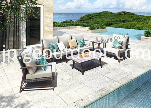 outdoor furniture modular seating set