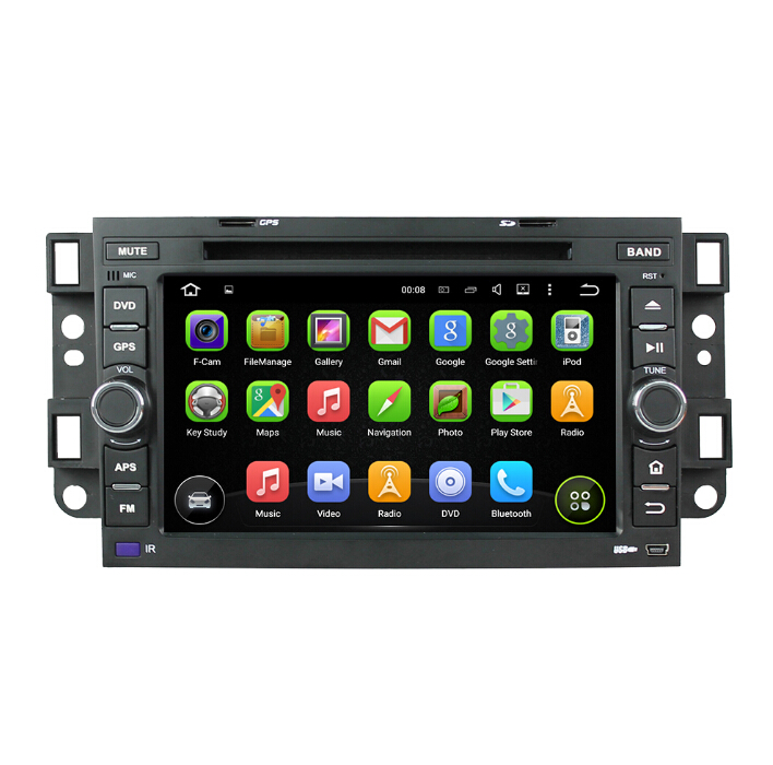 Chevrolet Quad Core Android 7.1 Car Dvd