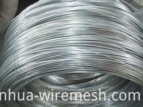 Hot Dipped Galvanized Galfan Steel Wire (1)