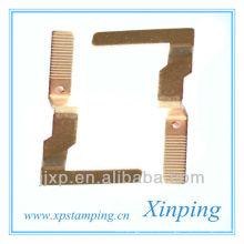 Kundenspezifische Blechstanzen Bronze Teile