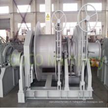 Guindeau automatique hydraulique marin de treuil d'ancre de remorquage