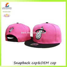 Outdoor sports flat caps Bboy fashion dresses baseball hats snapback caps custom