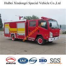 Camión de bomberos de agua 4ton Isuzu Foam Euro3