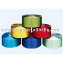 Dope gefärbtes Polyester Filament Garn