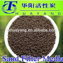 Wasserbehandlung Sand Medienfilter Mangansand für Eisenentfernung