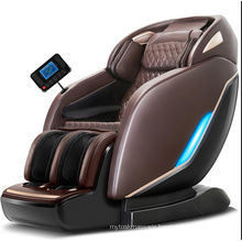 China Wholesale Luxury SL Track Full Body Shiatsu Zero Gravity Recliner Massage Chair with LED Lights