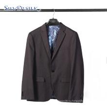 Мужской пиджак большого размера для вечеринок, черный