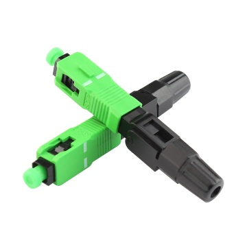 SC Apc Fiber Optic Fast Connector