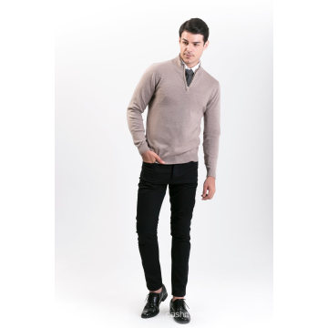 Мужская мода кашемир смесь свитер 18brawm009