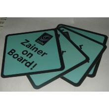 Signes de voiture personnalisés (Zainer sur les conseils)