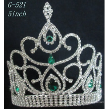 Свадебная принцесса Серебряная принцесса Тиара Женская головка для волос тиара
