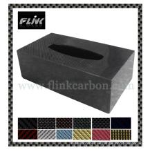 Caja de tejido de fibra de carbono