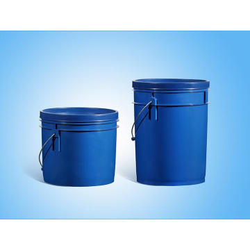 20L Industrial Plastic Barrels Blue and White