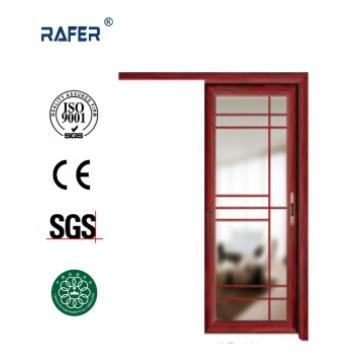 Porte vitrée en aluminium avec un rail coulissant (RA-G001)
